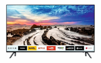 "Samsung UE49MU7055T 49"" 4K Ultra HD Smart TV Wi-Fi Nero, Titanio LED TV"