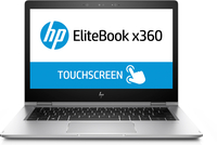 "HP EliteBook x360 1030 G2 + 3y NBD Onsite 2.8GHz i7-7600U 13.3"" 1920 x 1080Pixel Touch screen Argento Ibrido (2 in 1)"