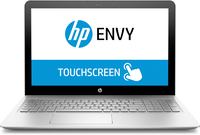 "HP 15-as128tu 2.70GHz i7-7500U 15.6"" 1920 x 1080Pixel Touch screen Argento Computer portatile"