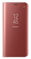 "Samsung Clear View 5.8"" Custodia a libro Rosa"
