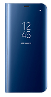 "Samsung Clear View 5.8"" Custodia a libro Blu"