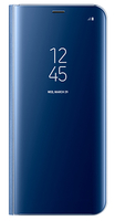 "Samsung Clear View 6.2"" Custodia a libro Blu"