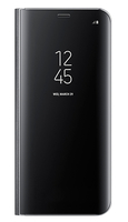 "Samsung Clear View 6.2"" Custodia a libro Nero"