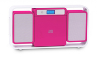 Bigben Interactive MCD10RSMP3USB Home audio micro system Rosa, Bianco set audio da casa