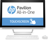 "HP Pavilion 27-a258cn 2.4GHz i5-7400T 27"" 1920 x 1080Pixel Touch screen Bianco PC All-in-one"
