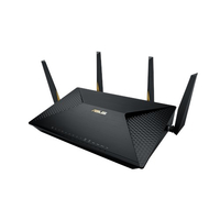 ASUS BRT-AC828 Dual-band (2.4 GHz/5 GHz) Gigabit Ethernet 3G 4G Nero router wireless