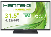 "Hannspree Hanns.G HL 326 HPB 32"" Full HD TFT Nero monitor piatto per PC"