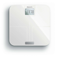 Philips DL8781/38 Bilancia pesapersone elettronica Quadrato Bianco bilance pesapersone