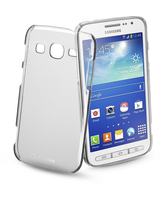 Cellularline Invisible - Galaxy Core Advance Cover rigida trasparente, mantiene il design inalterato Trasparente