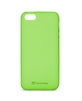 Cellularline Foggy - iPhone 5S/5 Morbida, colorata, semitrasparente - Verde