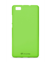 Cellularline Foggy - P8 Lite Morbida, colorata, semitrasparente - Verde