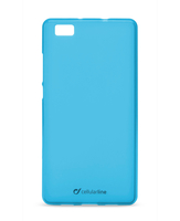 Cellularline Foggy - P8 Lite Morbida, colorata, semitrasparente - Blu
