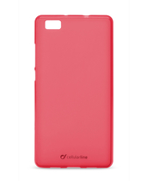 Cellularline Foggy - P8 Lite Morbida, colorata, semitrasparente - Rosa