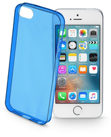 Cellularline Color Case - iPhone SE/5S/5 Custodie colorate e ultrasottili Blu