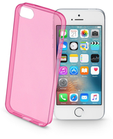 Cellularline Color Case - iPhone SE/5S/5 Custodie colorate e ultrasottili Rosa