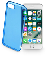 Cellularline Color Case - iPhone 7 Custodie colorate e ultrasottili Blu