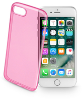 Cellularline Color Case - iPhone 7 Custodie colorate e ultrasottili Rosa