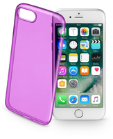 Cellularline Color Case - iPhone 7 Custodie colorate e ultrasottili Viola