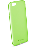Cellularline Foggy - iPhone 6/6S Cover semitrasparente, morbida e colorata - Verde