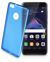 Cellularline Color Case - P8 Lite (2017) Custodie colorate e ultrasottili Blu
