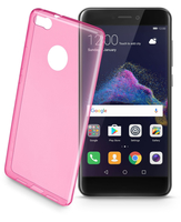 Cellularline Color Case - P8 Lite (2017) Custodie colorate e ultrasottili Rosa