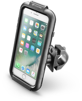 Cellularline iCase Holder - iPhone 7 Plus Supporto moto impermeabile, robusto e sicuro