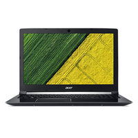 "Acer Aspire A715-71G-72MH 2.8GHz i7-7700HQ 15.6"" 1920 x 1080Pixel Nero Computer portatile"