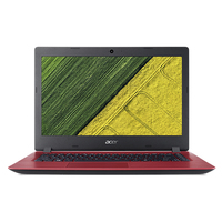 "Acer Aspire A315-31-C8HE 1.10GHz N3350 15.6"" 1366 x 768Pixel Rosso Computer portatile"