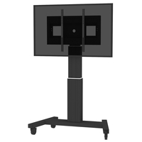 "Conen Mounts SCETAVB 100"" Portable flat panel floor stand Nero base da pavimento per tv a schermo piatto"