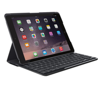 Logitech Slim Folio Bluetooth QWERTY Spagnolo Nero tastiera per dispositivo mobile