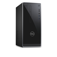 DELL Inspiron 3662 3.9GHz i3-7100 Scrivania Nero PC