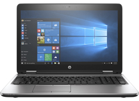 "HP ProBook 650 G3 + 3 year NBD Onsite Hardware Support f/Notebooks 2.50GHz i5-7200U 15.6"" 1366 x 768Pixel Argento Computer portatile"