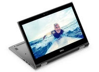 "DELL Inspiron 5368 2.40GHz i3-7100U 13.3"" 1920 x 1080Pixel Touch screen Nero, Argento Ibrido (2 in 1)"