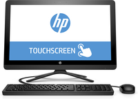 "HP 24 -g162 1.6GHz J3710 23.8"" 1920 x 1080Pixel Touch screen Bianco PC All-in-one"