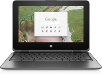 "HP Chromebook x360 11 G1 EE 1.10GHz N3350 11.6"" 1366 x 768Pixel Touch screen Argento Chromebook"