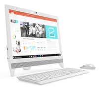 "Lenovo IdeaCentre 310-20IAP 2.00GHz J3355 19.5"" 1440 x 900Pixel Bianco PC All-in-one"