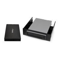 "StarTech.com Hot-Swap Hard Drive Bay for 2.5"" SATA SSD / HDD - USB 3.1 (10Gbps) Enclosure"