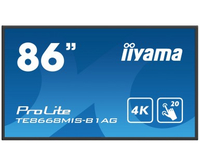 "iiyama ProLite TE8668MIS-B1AG 86"" 3840 x 2160Pixel Multi-touch Multi utente Nero monitor touch screen"