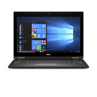 "DELL Latitude 5289 2.8GHz i7-7600U 12.5"" 1920 x 1080Pixel Touch screen Nero Ibrido (2 in 1)"
