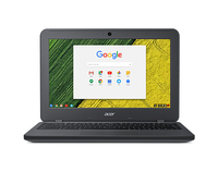 "Acer Chromebook 11 N7 C731T-C9M4 1.6GHz N3160 11.6"" 1366 x 768Pixel Touch screen Grigio Chromebook"