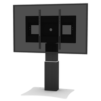 "Conen Mounts SCETAP28B 100"" Fixed flat panel floor stand Nero base da pavimento per tv a schermo piatto"