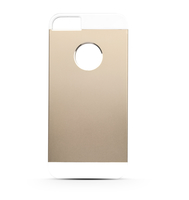 Area Aluminium - back cover in alluminio gold