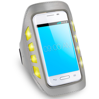 Area Armband LED giallo fino a 4