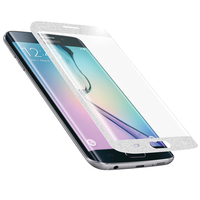 Area Screen Protector - Full coverage 3D bianco Galaxy S6 Edge G925F 1pezzo(i)