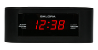 Salora CR606USB Orologio Digitale Nero radio