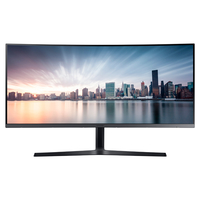 "Samsung C34H890WJN 34"" Full HD VA Nero, Titanio monitor piatto per PC"