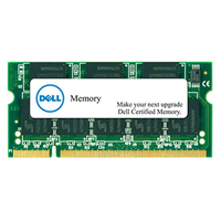 DELL 2GB DDR3L SDRAM SO-DIMM 204-pin 1600MHz 2GB DDR3L 1600MHz memoria