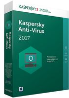 Kaspersky Lab Anti-Virus 2017 1utente(i) 3anno/i Base license