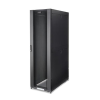 """StarTech.com 42U Server Rack Cabinet - 4-Post Adjustable Depth (3"""" to 35"""") IT Network Equipment Rack Enclosure with Casters/ Vented/Locking /3315lb /Dell PowerEdge HP ProLiant ThinkServer"""