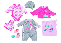 BABY born Deluxe Care and Dress Set di vestiti per bambola